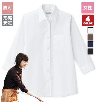 開襟七分袖シャツ(34-FB4039L)