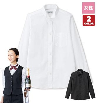 ボンマックスのウィングカラーシャツ/長袖[女性用](34-FB4041L)