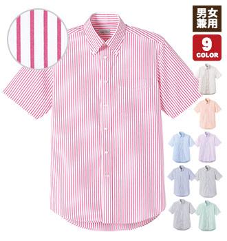ストライプ柄半袖シャツ(34-FB4509U)