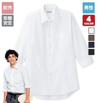 開襟七分袖シャツ(34-FB5044M)