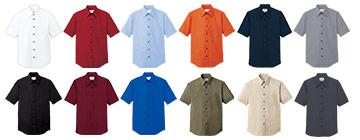 半袖カラーシャツ(31-EP5963)のカラーバリエーション