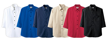 七分袖シャツ(31-EP7618)のカラーバリエーション