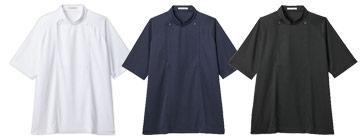 コックシャツ(34-FB4550U)のカラーバリエーション