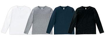 長袖Tシャツ(34-MS1605)のカラーバリエーション