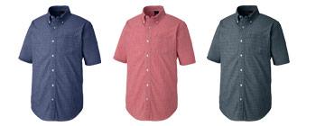 半袖ボタンダウンシャツ(61-7825)のカラーバリエーション