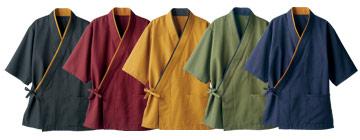 作務衣(71-3-521)のカラーバリエーション