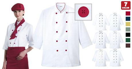 コックシャツ(31-AS7804)