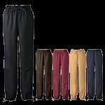 ウエストゴム仕様で穿き心地らくらく!膝部分にパットも入れられる作務衣パンツ