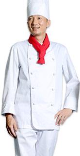 厨房用コックコート
