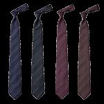 チトセのストライプ柄ネクタイ(31-AS8079)