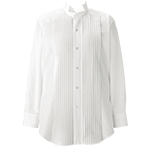 ボストン商会のピンタックシャツ(32-14110)