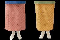 小花柄が上品な和風ラップスカート