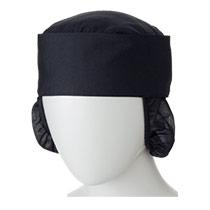 モンブランの和帽子たれ付[男女兼用] 71-9-735(736)