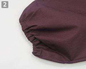 和風パンツ(31-G71151)のポイント�裾ゴム入り