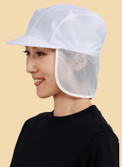 軽作業向け!帽子タイプの衛生帽子