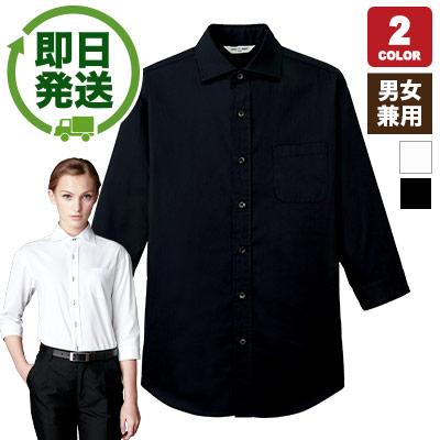 ワイドカラーシャツ(七分袖)(31-EP7822)