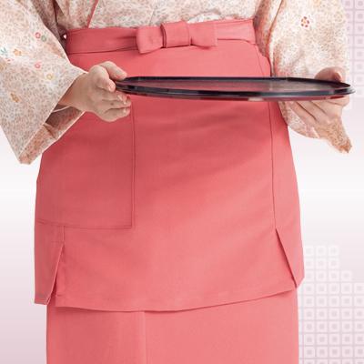 前掛(ピンク)(33-OD25)