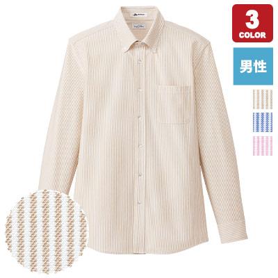 男性用ニット吸汗速乾長袖シャツ(34-FB5028M)