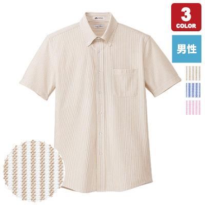 男性用ニット吸汗速乾半袖シャツ(34-FB5029M)