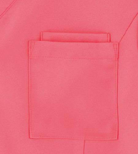 胸ポケットのイメージ図