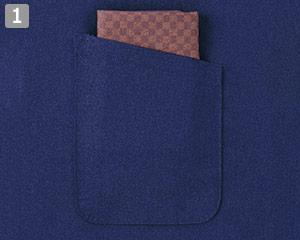 作務衣/上衣(02-25700)の商品詳細「内ポケット」