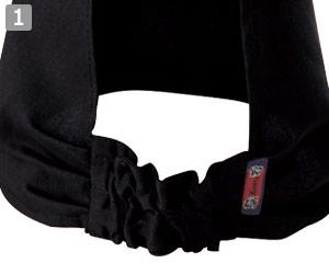 三角巾(02-25705)の商品詳細「後ろゴム仕様」