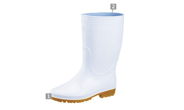 衛生長靴(02-85762)のおすすめポイント