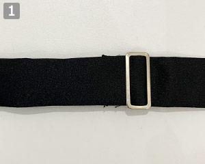 クロスタイ(31-AS12)の商品詳細「首後ろバックル付き」