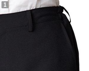 パンツのポイント�両脇ポケット