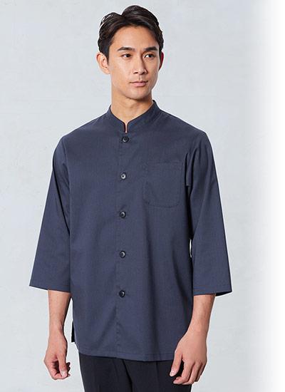 チトセの七分袖和風シャツ(31-AS8315)のポイント画像