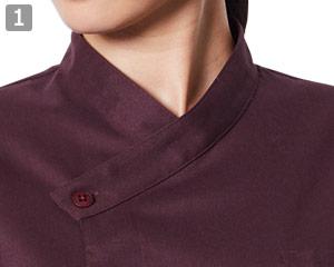 和風シャツのポイント�和の雰囲気醸し出す襟元
