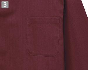 和風シャツのポイント�左胸ポケット