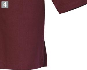 和風シャツのポイント�両脇スリット
