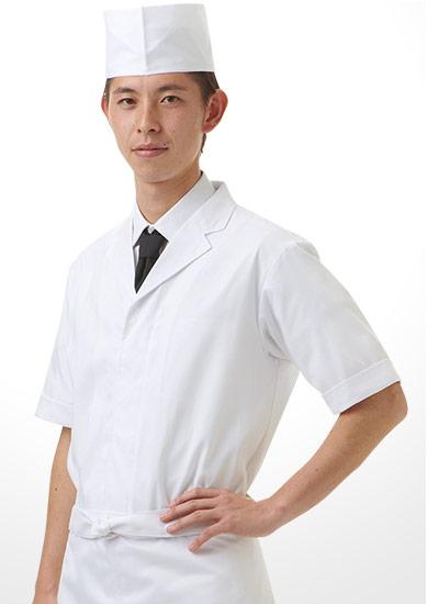 チトセの半袖白衣(31-DN6854)のポイント画像