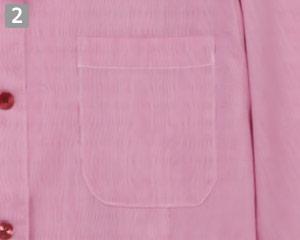 ブラウス/七分袖(31-EP7914)の商品詳細「左胸ポケット」