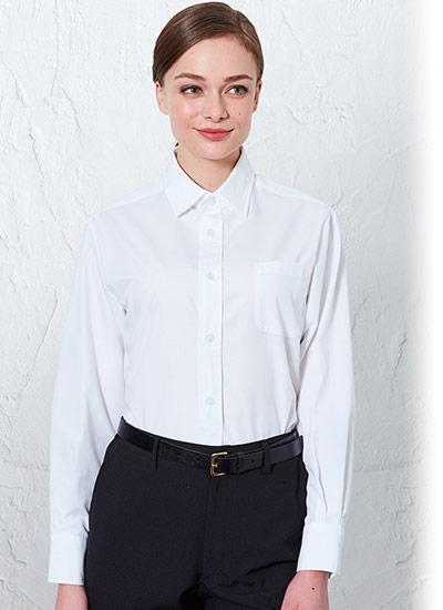 チトセの長袖レギュラーカラーシャツ(31-EP8354)のポイント画像