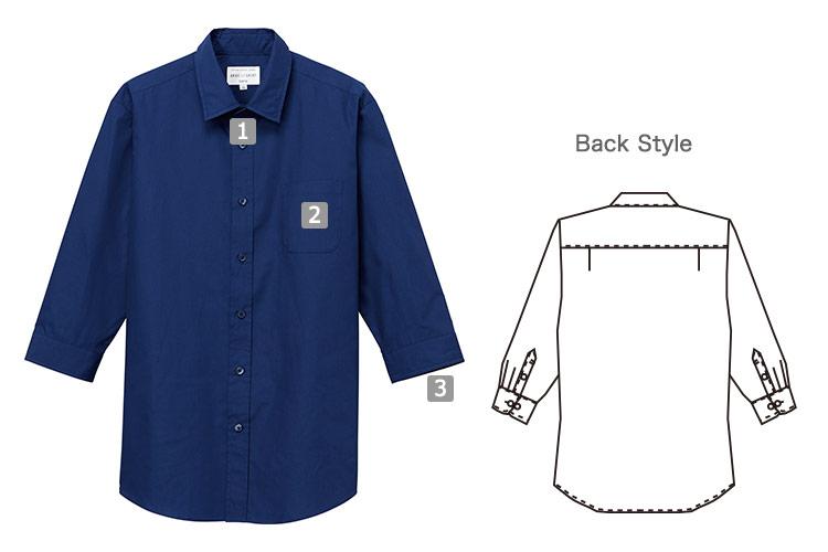 七分袖シャツ(31-EP8355)の商品詳細