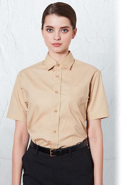 チトセの半袖レギュラーカラーシャツ(31-EP8356)のポイント画像