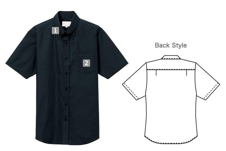 半袖ボタンダウンシャツ(31-EP8359)の商品詳細