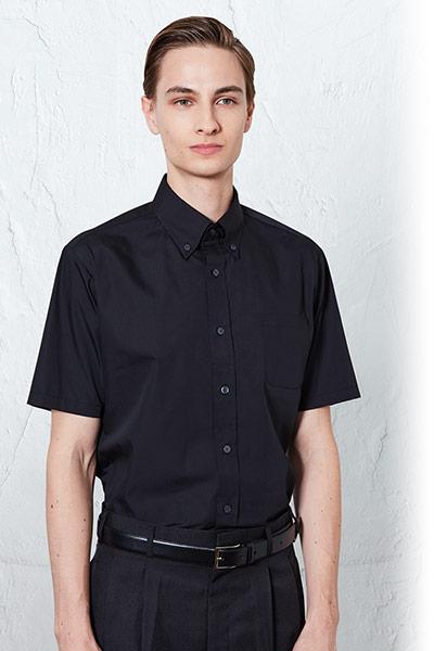 チトセの半袖ボタンダウンシャツ(31-EP8359)のポイント画像