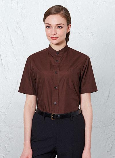 チトセの半袖スタンドカラーシャツ(31-EP8362)のポイント画像