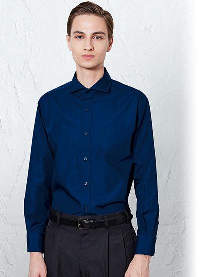 チトセの長袖ワイドカラーシャツ(31-EP8363)のポイント画像