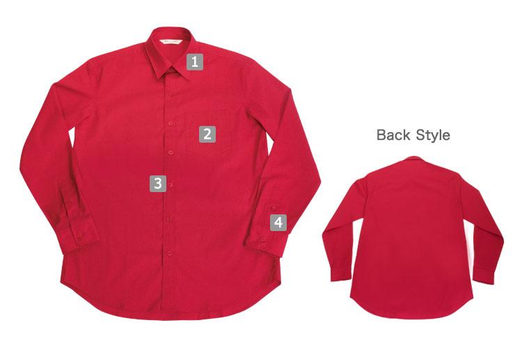 ストレッチカラーシャツ(31-EP8529)の商品詳細