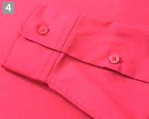 ストレッチカラーシャツ(31-EP8529)の商品詳細「袖口ボタン仕様」