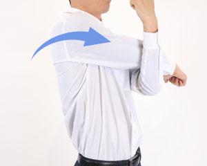 ストレッチカラーシャツ(31-EP8529)のポイント画像�