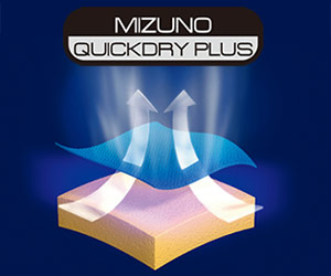 MIZUNO QUICKDRY PLUSイメージ画像