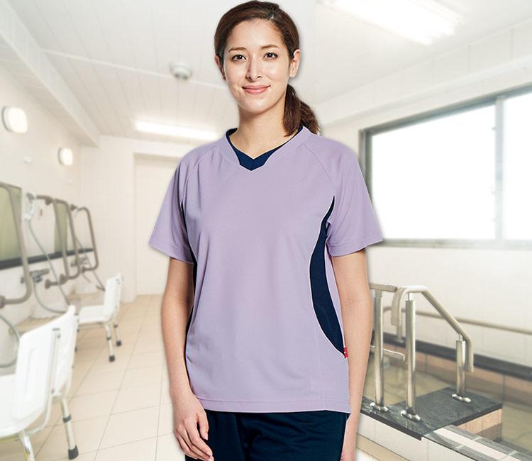 31-MZ0198入浴介助用シャツ