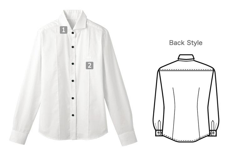 ホリゾンタルカラーシャツ(32-24215)の商品詳細