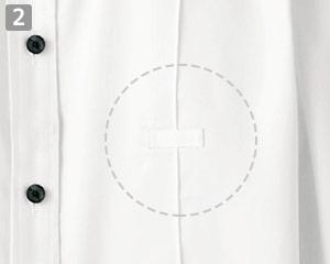 ホリゾンタルカラーシャツ(32-24215)の商品詳細「ネームプレートループ」