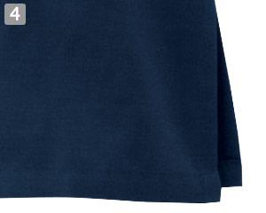 マオカラーシャツ(32-24307)の商品詳細「袖・裾スリット入り」